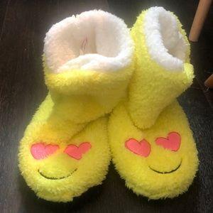 Emoji Slipper Booties